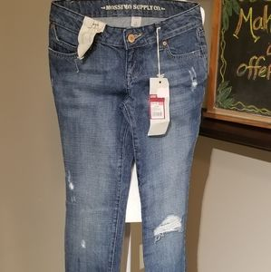 Mossimo lowest skinny distressed jeans